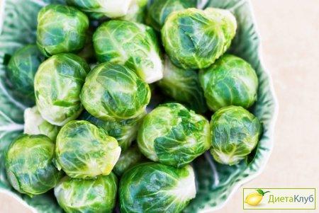 Брюссельская капуста рецепт