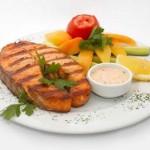Fish diet. Рыбная диета