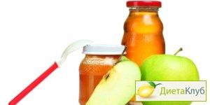 детское питание диета для похудения