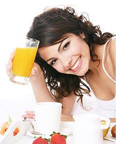 Правильный рацион питания для похудения.