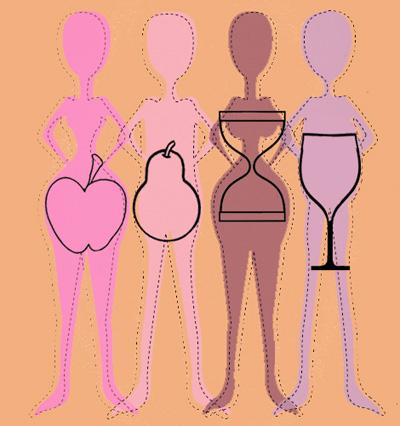 как правильно питаться при фигуре песочные часы