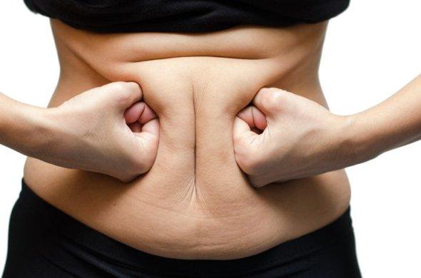 как убрать жир с низа спины